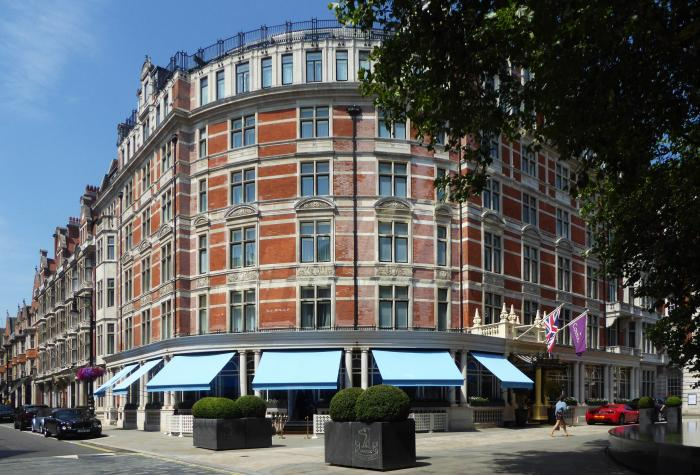 Greenwich Awning® for the Connaught Hotel, Mayfair