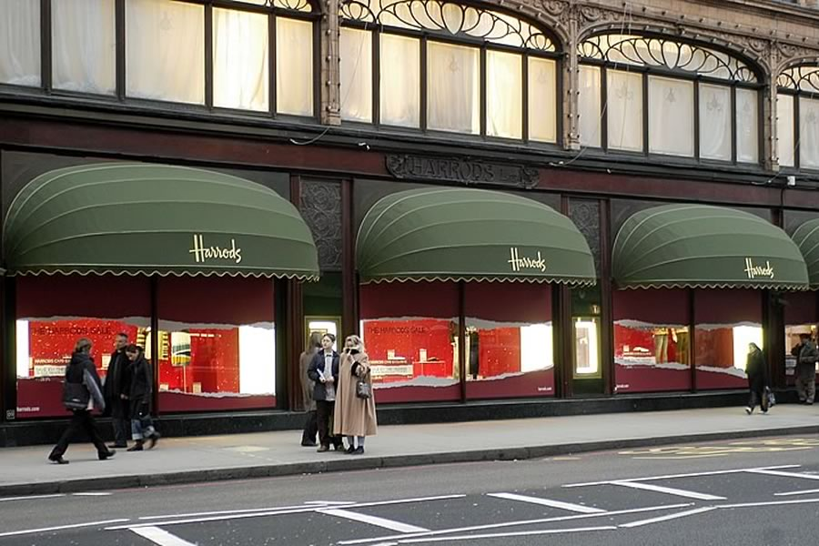 Harrods awnings by Morco Awnings & Blinds