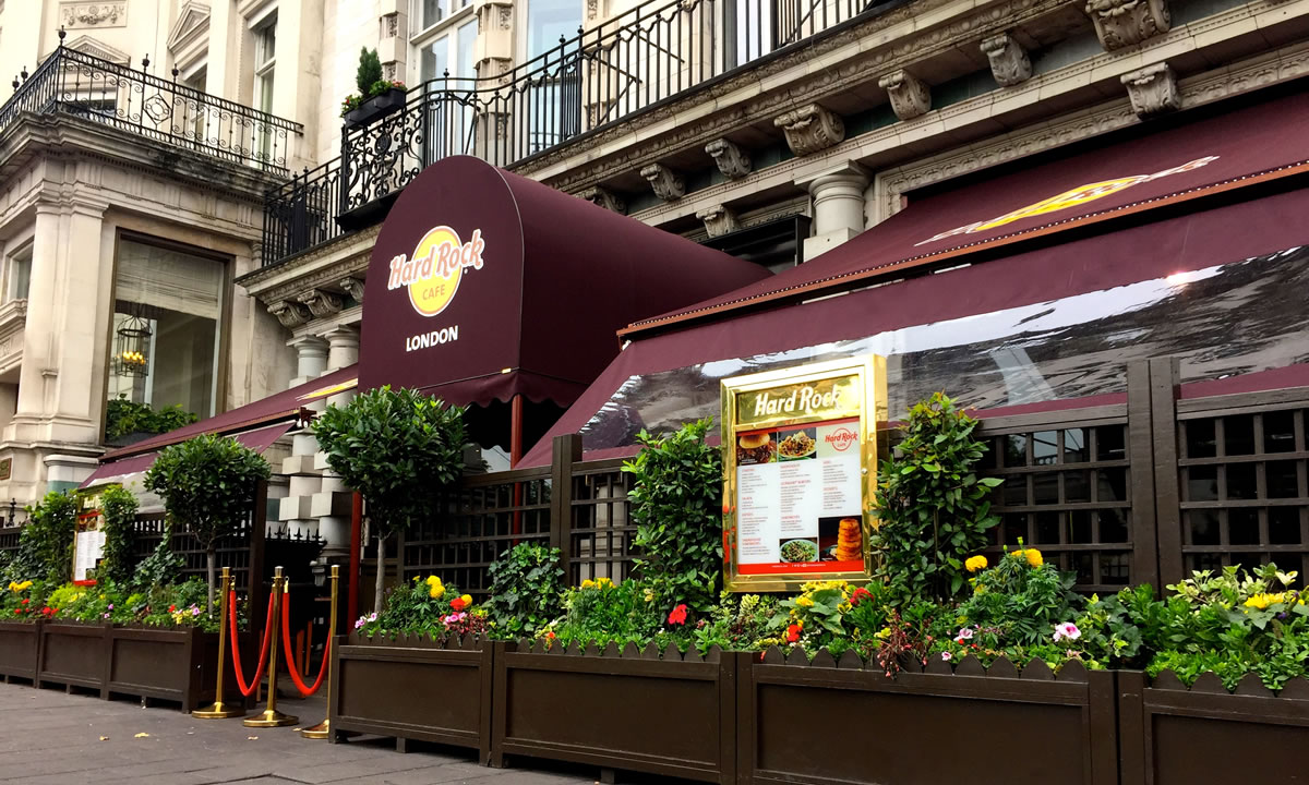 Hard Rock awning by Morco