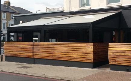 Fremantle Sepele® Terrace Awning for Bodean's BBQ, Balham