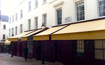 Greenwich Awning® for Mayfair private members club