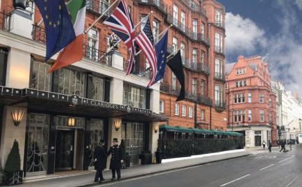 Bespoke RIB® Parasols for Claridge's Bar Terrace