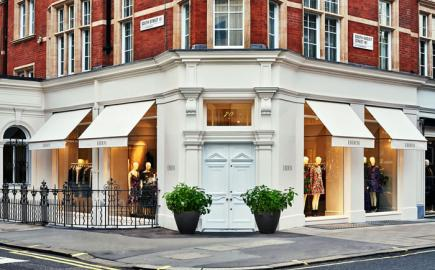 Marlesbury Awning® for the Erdem Flagship Store